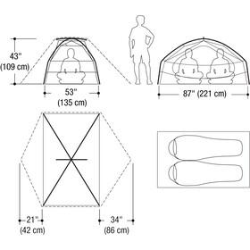 Marmot Limelight 2P Tente, cinder/rusted orange